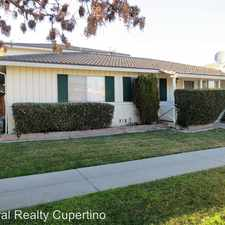 Rental info for 381 Greendale Way - Unit 1 in the San Jose area