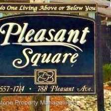 Rental info for Pleasant Square 788 Pleasant Avenue