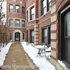 Rental info for 5235-39 N. Winthrop in the Chicago area