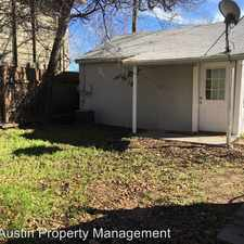 Rental info for 1036 E 43rd St - Unit B in the Austin area