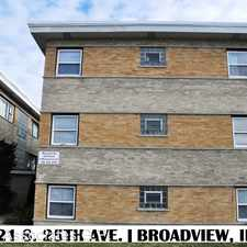 Rental info for 2121 S 25th Ave # 1E in the Maywood area