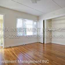 Rental info for 902 Bath St D in the West Downtown area