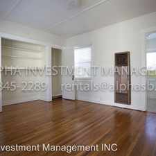 Rental info for 902-906 Bath St in the West Downtown area