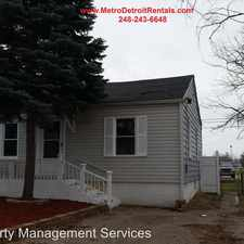 Rental info for 24089 Thomas - 24089 in the Taylor area