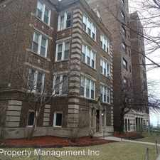 Rental info for 1004 - 26 W. Loyola in the Chicago area