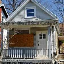 Rental info for 1042 Fairbanks Avenue in the East Price Hill area