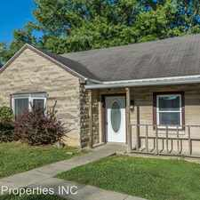 Rental info for 1305 N Lincoln in the Bloomington area