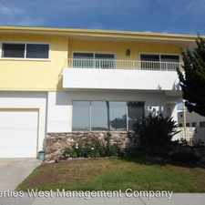 Rental info for 4014 South Gaffey - #6