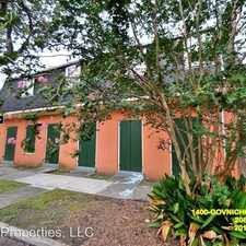 Rental info for 1400 Gov. Nicholls in the Treme - Lafitte area