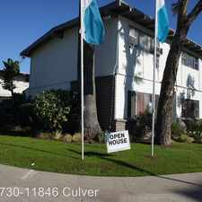 Rental info for 11730-11846 Culver Blvd. APT 11830 in the Los Angeles area