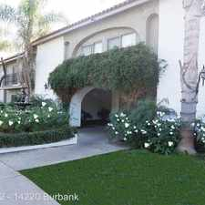 Rental info for 14220 Burbank Blvd. in the Los Angeles area
