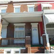 Rental info for Lovely Modern 3 Bedroom 1 bath, porch front with fenced in yard,Central Air, and is LEAD FREE in the Baltimore area