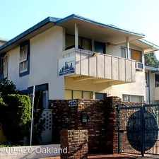 Rental info for 400-420 N. Oakland Ave. in the The Oaks area