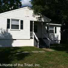 Rental info for 4412 Trinity Avenue in the Hewitt Area area