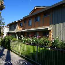 Rental info for 6640-6652 Darby Ave. in the Los Angeles area
