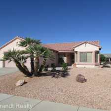 Rental info for 16386 W Rock Springs Lane