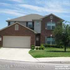 Rental info for 7218 Carriage Oaks in the San Antonio area