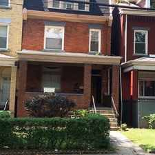 Rental info for 216 S Mathilda Street Unit #3 in the Garfield area