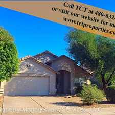 Rental info for 688 E. Windsor Dr. in the Gilbert area