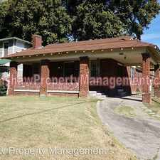 Rental info for 1718 Glenview Ave. in the Memphis area