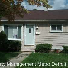 Rental info for 29006 Beechwood in the 48135 area