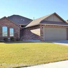 Rental info for 1513 Ginger Avenue in the 73160 area