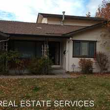 Rental info for 845 Montana Drive in the Reno area