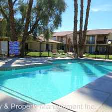 Rental info for 81871 Las Palmas Dr - 100 in the Indio area