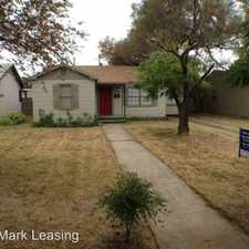 Rental info for 3719 25th Street in the Lubbock area