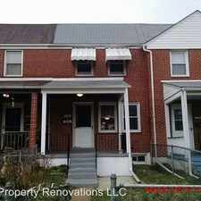 Rental info for 7530 Westfield Rd. in the Dundalk area
