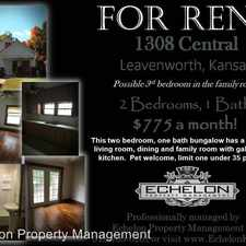 Rental info for 1308 Central