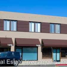 Rental info for 1646 CABRILLO AVE., APT. 214
