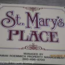 Rental info for 1201 Saint Marys