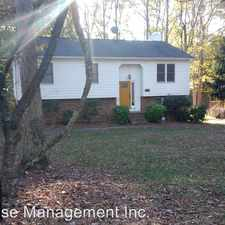 Rental info for 1400 Brookwood Drive in the Wake Forest University area