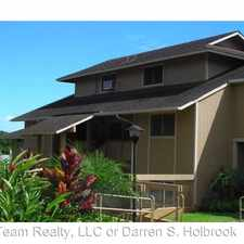 Rental info for 98-834 Noelani St 11