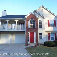 Rental info for 4603 Orange Drive in the Acworth area
