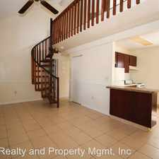 Rental info for 2166 Bradford St Apt 107 in the Largo area