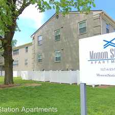 Rental info for 4560 N Winthrop Apt 10 in the Indianapolis area