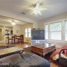 Rental info for 303 East 38th Street in the Austin area