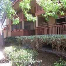 Rental info for 1067 Alta Mira Dr B in the San Jose area