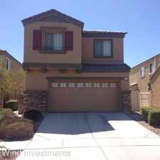 Rental info for 3763 VAN NESS AVE in the North Las Vegas area