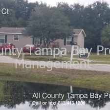 Rental info for 704 Klinger Ct in the Tampa area