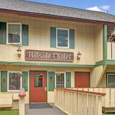 Rental info for Hillside Chalet Apartment Homes in the Anchorage area