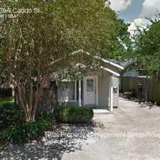 Rental info for 669A Caddo St. in the Baton Rouge area