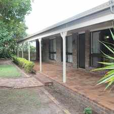 Rental info for Large family home with pool in the Bundaberg area