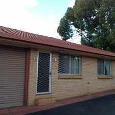 Rental info for NEAT AND COMPLETE - LIVE IN THE CITY AND LEAVE THE CAR AT HOME AND 2 WEEKS FREE RENT!! in the Centenary Heights area