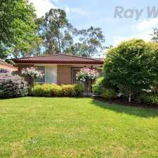 Rental info for GREAT FIND IN SUPER LOCATION! in the Melbourne area