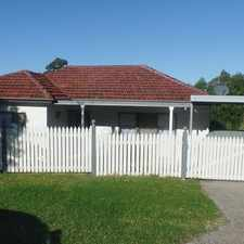 Rental info for Lovely Renovated Home in the Unanderra area