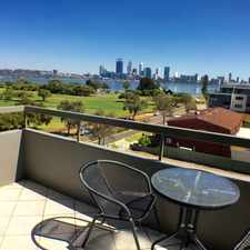 Rental info for WHAT A VIEW - GET IN QUICK BEFORE IT GOES! in the Perth area