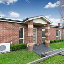 Rental info for Immaculate sunny & modern unit in the heart of town in the Melbourne area